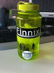Finnix water bottle (sticker).jpg